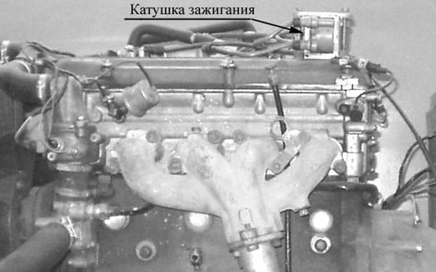 на двигателе ЗМЗ-406